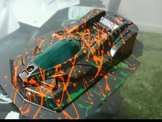 サンダーショット MS  蛍光オレンジ用ボディ