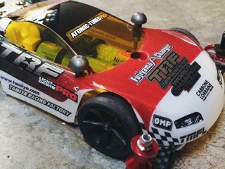 My mini Nascar TRF