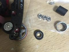 9.3mmゴム付きベアリングローラー