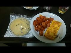 久々に朝飯を食べる(´∇`)