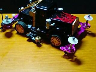 ピンク二世のメインマシンワイルドトラック  (ブルヘッド)