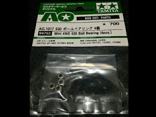 mini 4wd 520 ball bearing