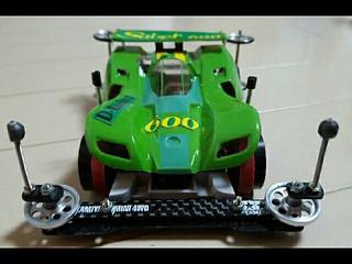 D-Racing No.1 マグナムSaber600 完成!