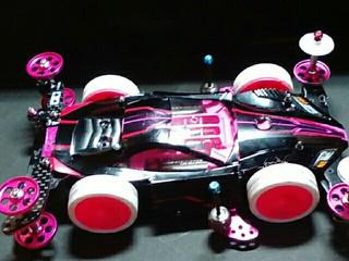 pinkcrazySPEEDマシン完成どんな感じか