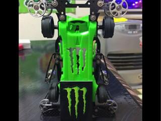 電池カバー モンスター