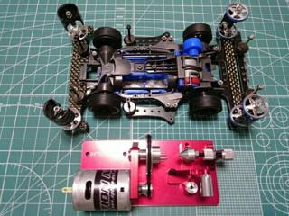 OPTION NO.1 タイヤセッター組立