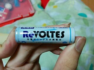 100均充電池