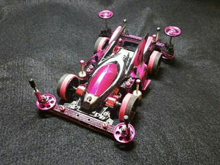 Thunder shot⚡Mk2【B&pink】VS☆
