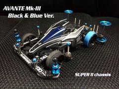 AVANTE Mk-III Black & Blue