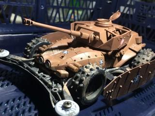 ダッシュIV号戦車D型改(H型仕様)