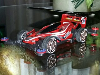 mini 4wd AR Chassis RedSpecial