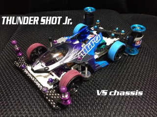 雷撃 Jr. VS chassis