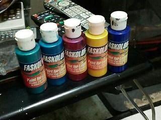 エアブラシ塗料