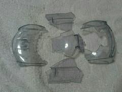 ライキリ フロントガラス移植