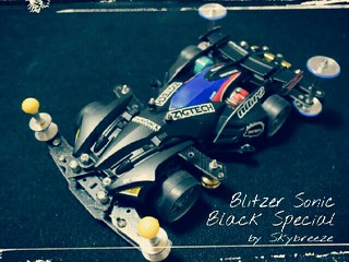 Blitzer Sonic  -Black special-