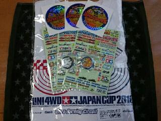 JCステッカー/JCカンバッチ/タミヤTシャツJC2016[2016/6/26]