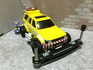 ハイウェイ・ミニ四駆パトロールカー