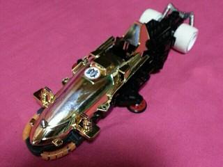 ダンガンレーサーミニ四駆のボディ使ってみたよ