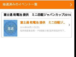 ジャパンカップ2016福井大会
