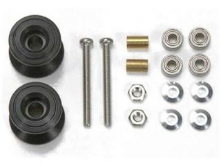 2段アルミローラーセット (13-12mm) ブラック