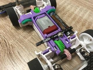 軽量化MA電池ホルダー