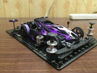 サンダーショットjr.『紫炎』