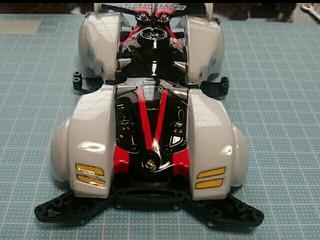 バックブレーダー 両軸使用ボディ