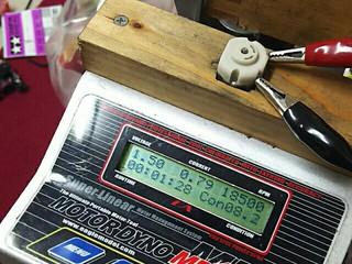 1.5Vで18000回転スプリントダッシュ❗(笑)