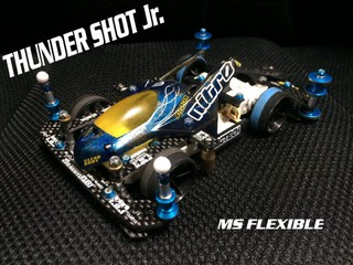 雷撃 Jr. MS FLEXIBLE Blue Ver.