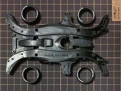 強化MAシャーシ+スーパーハードローハイトタイヤ(ホワイトプリント入り)