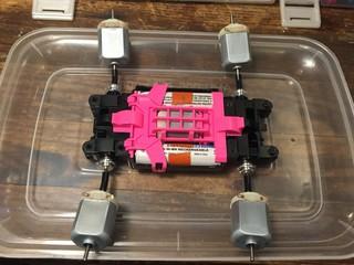 quadruple motor break in