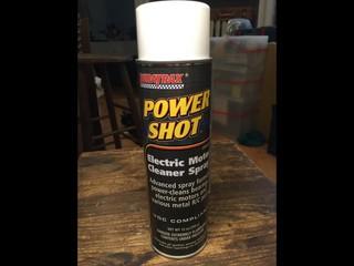 power shot motor cleaner