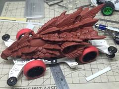 火竜(表面処理完成)