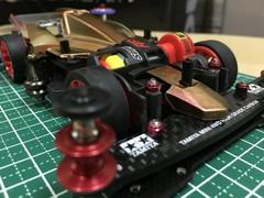 戦闘マシンFMARフレキアバンテ試作車両