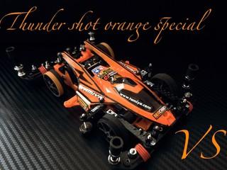 Thunder shot orange jet