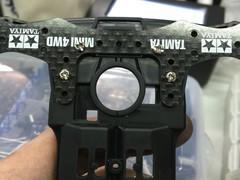 フロントブレーキ切削ヘッド補強の空間変換を強化します