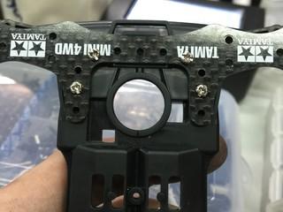 フロントブレーキ切削ヘッド補強の空間変換を強化します🙈