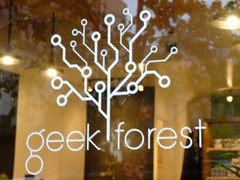 Build/Track Event, GeekForest, Brooklyn