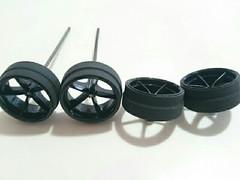 2段ハーフペラタイヤ