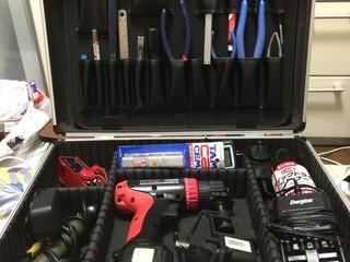 工具箱買いました( ^ω^ )