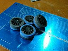 short nozzle medium wheel with mix tires