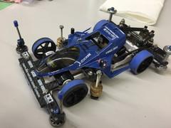 青いマシーンのTZ-X