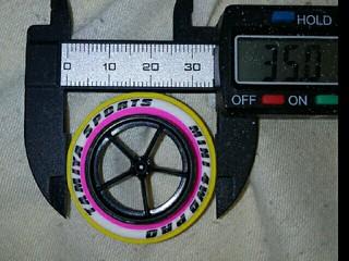 超大径タイヤ 3層