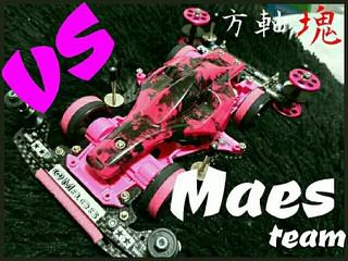 VS初ピンク&ブラック!