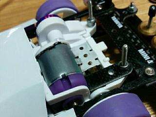 紫色をゲット!