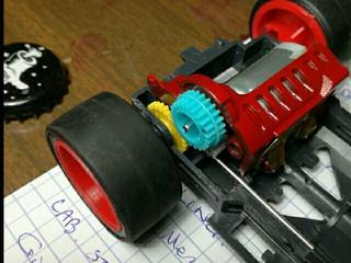 3.8:1 gear ratio