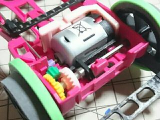 AR フラットマシンの駆動まわり