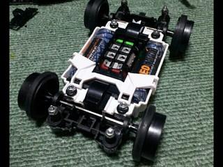 車軸上げサス型試作ms