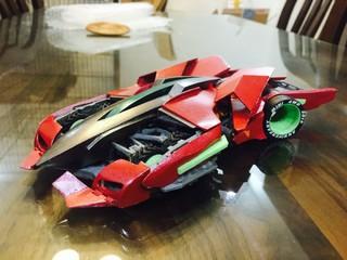 3Dprinter 六轮独立避震试验组装