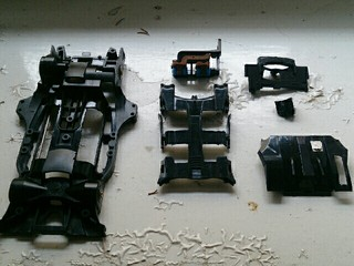 Ar chassis lightened